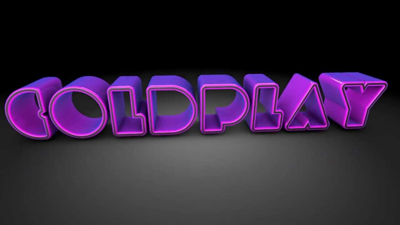 coldplay logo animado youtube