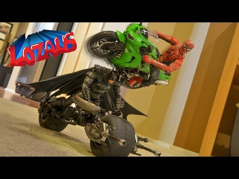 SPIDERMAN IRONMAN BATMAN STAR WARS Stop Motion COMPILATION