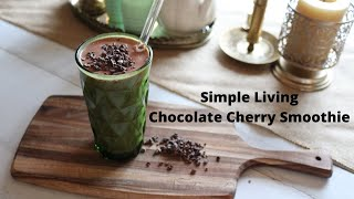 Chocolate Covered Cherry Smoothie #Shorts