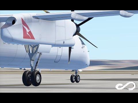 Qantas Link Dash - 8 Q400 | Sydney To Newcastle | Infinite Flight Global
