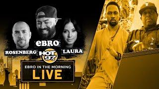 Previewing The RZA vs DJ Premier Battle | Ebro in the Morning LIVE