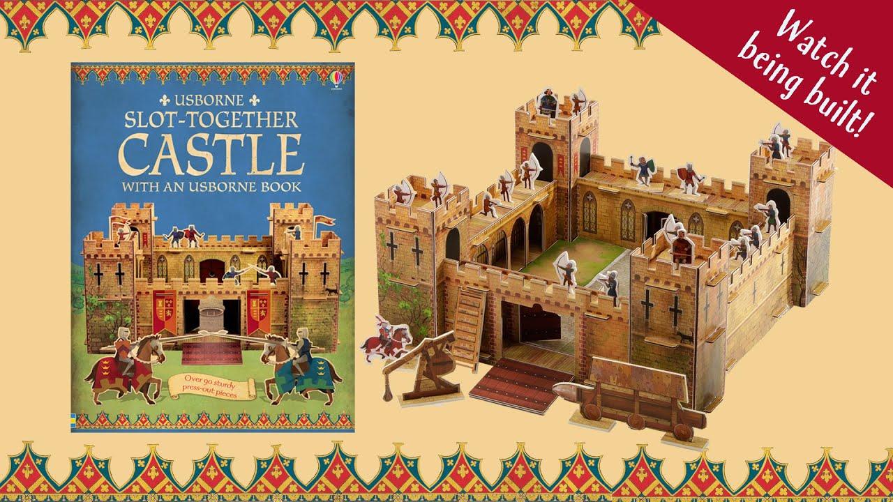 Slot-together Castle (Usborne Publishing) - YouTube