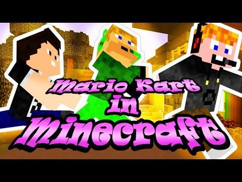 Minecraft - Mario Kart in Minecraft [SZEGÉNY BENCE!!!! :'(]
