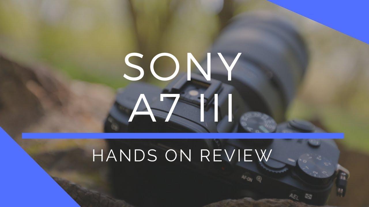 Sony a7 III Full-Frame Mirrorless Digital Camera Body
