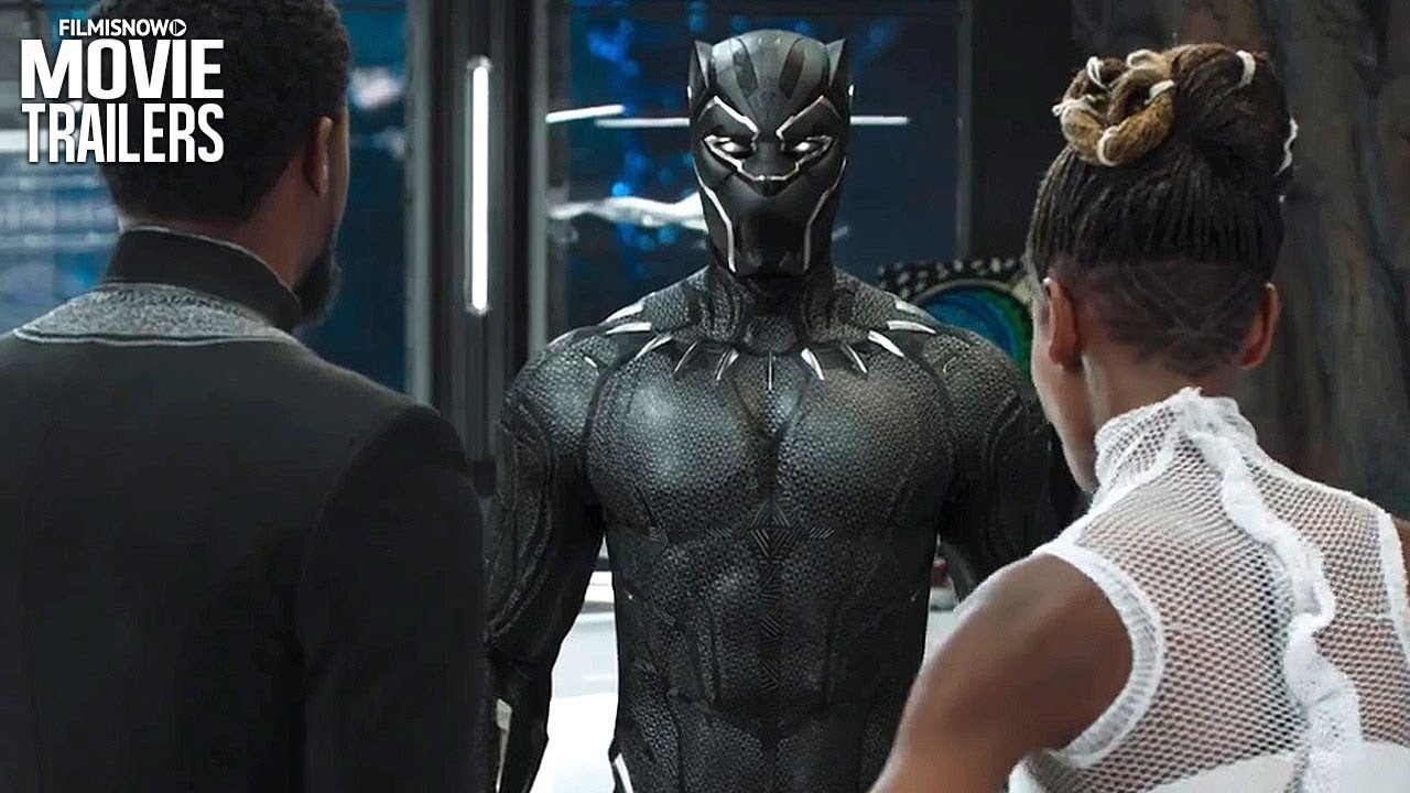 Black Panther 2018 International Trailer Reveals New Costume S Abilities Youtube