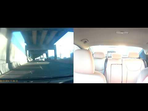 Falcon F360 Dual Dashcam Review Daytime