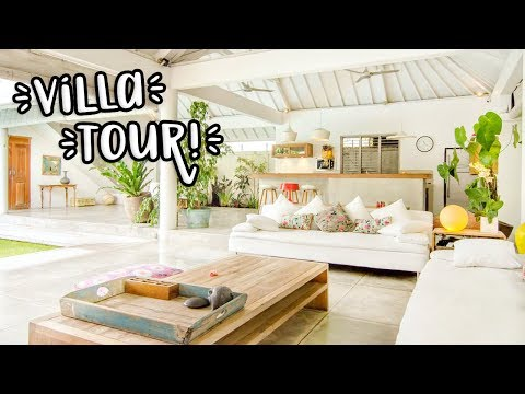 HOUSE TOUR OF OUR VILLA IN BALI!