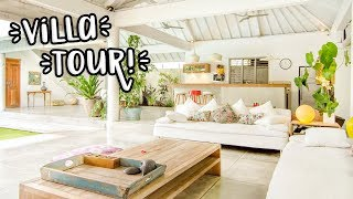 Gambar cover HOUSE TOUR OF OUR VILLA IN BALI!