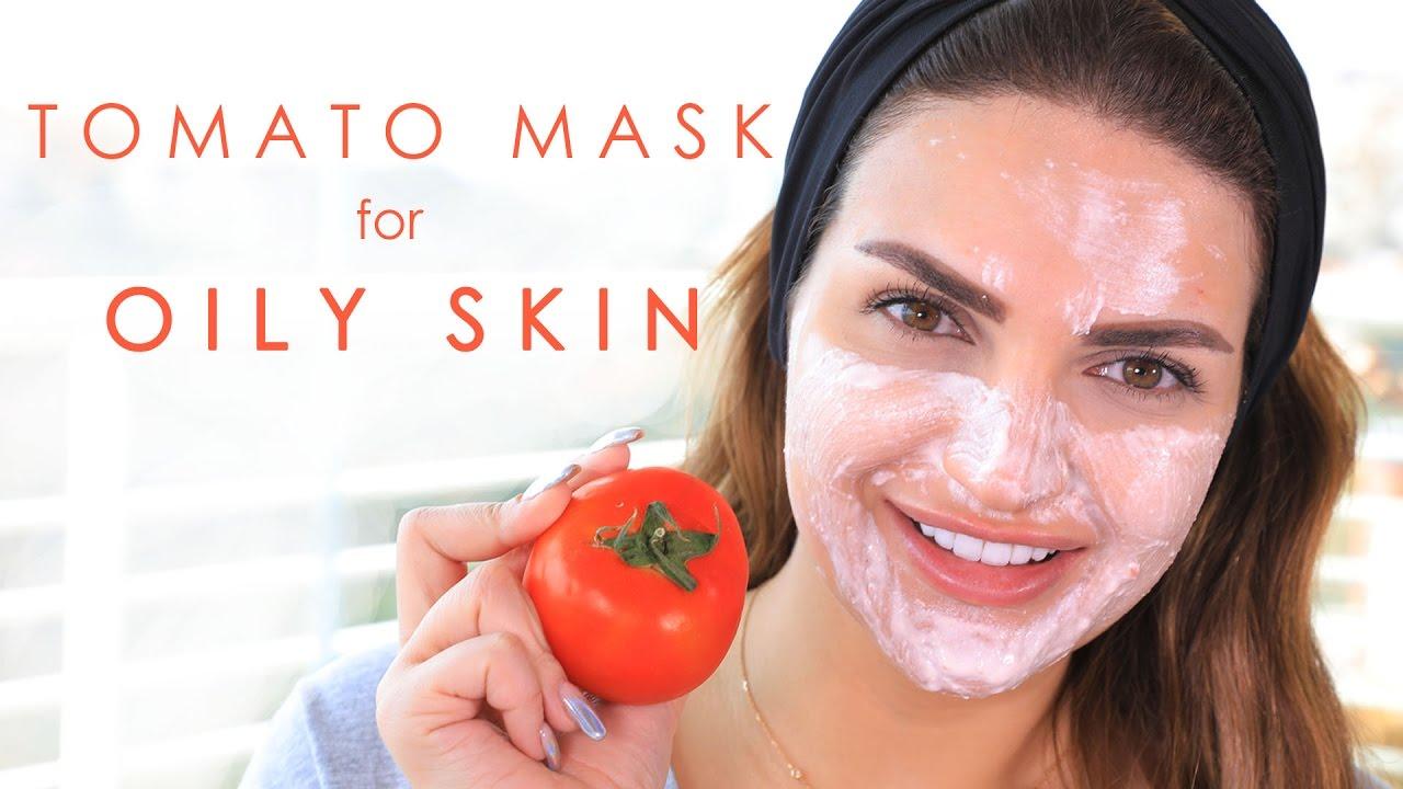 78f9f108baeae طريقة عمل ماسك الطماطم للبشرة الدهنية Tomato Face Mask for Oily Skin ...