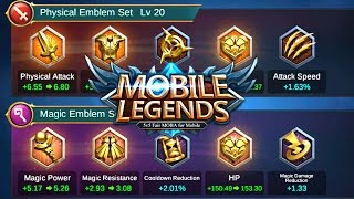 Mobile Legends Emblems For New Players - Mobile Legends Bang Bang Guide
