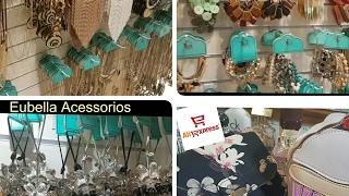 COMPRINHAS E RECEBIDOS DA SEMANA: EUBELLA ACESSORIOS  E ALIEXPRESS 💖