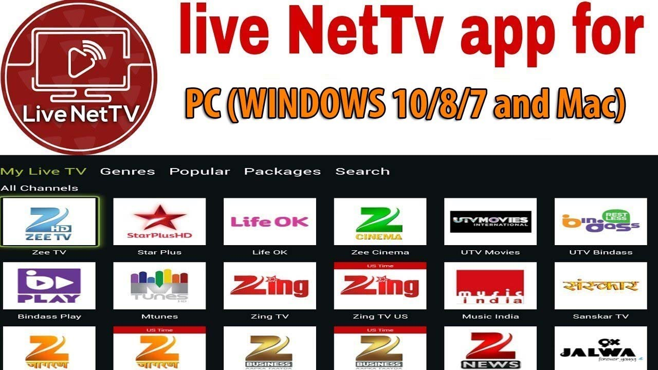 How To Watch Live NetTV on PC (Windows 10/8/7) without Bluestacks [Hindi / Urdu] - YouTube