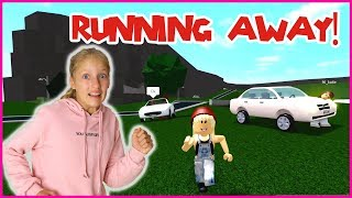 RUNNING AWAY FROM KIDNAPPERS!!!