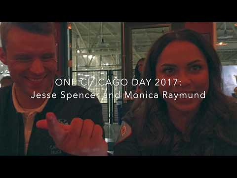 One Chicago Day 2017: Jesse Spencer and Monica Raymund