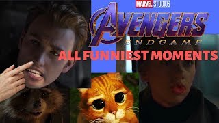 Avengers Endgame Funniest Moments Trailer Compilation