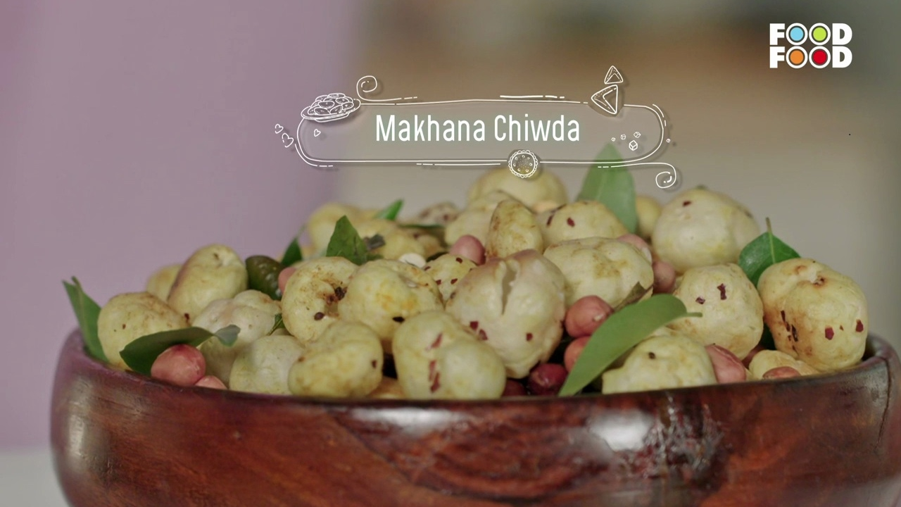 Makhan chiwda namkeen nation chef rakesh sethi foodfood youtube forumfinder Choice Image