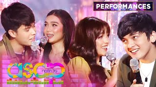 """Download KyCine and SethDrea spread love vibes with """"Akin Ka Na Lang"""" performance 