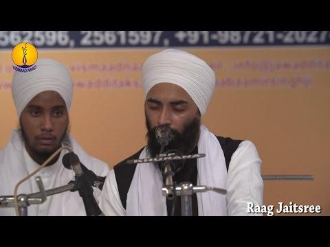 25th AGSS-2016 : Raag Jaitsree Bhai Gurmeet Singh Ji Janer Taksal