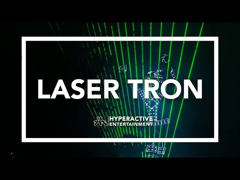LASER TRON International Stage BY Hyperactive Entertainment