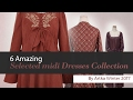 6 Amazing Selected midi Dresses Collection By Artka Winter 2017