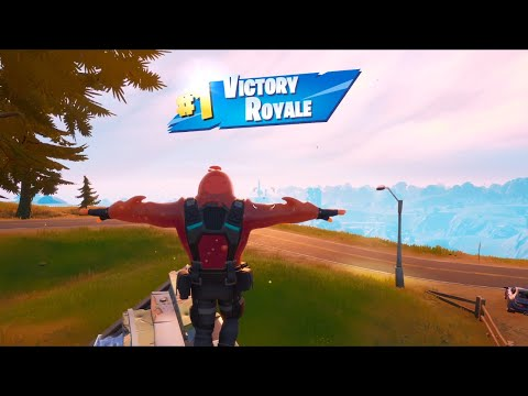 FORTNITE First Win With RED