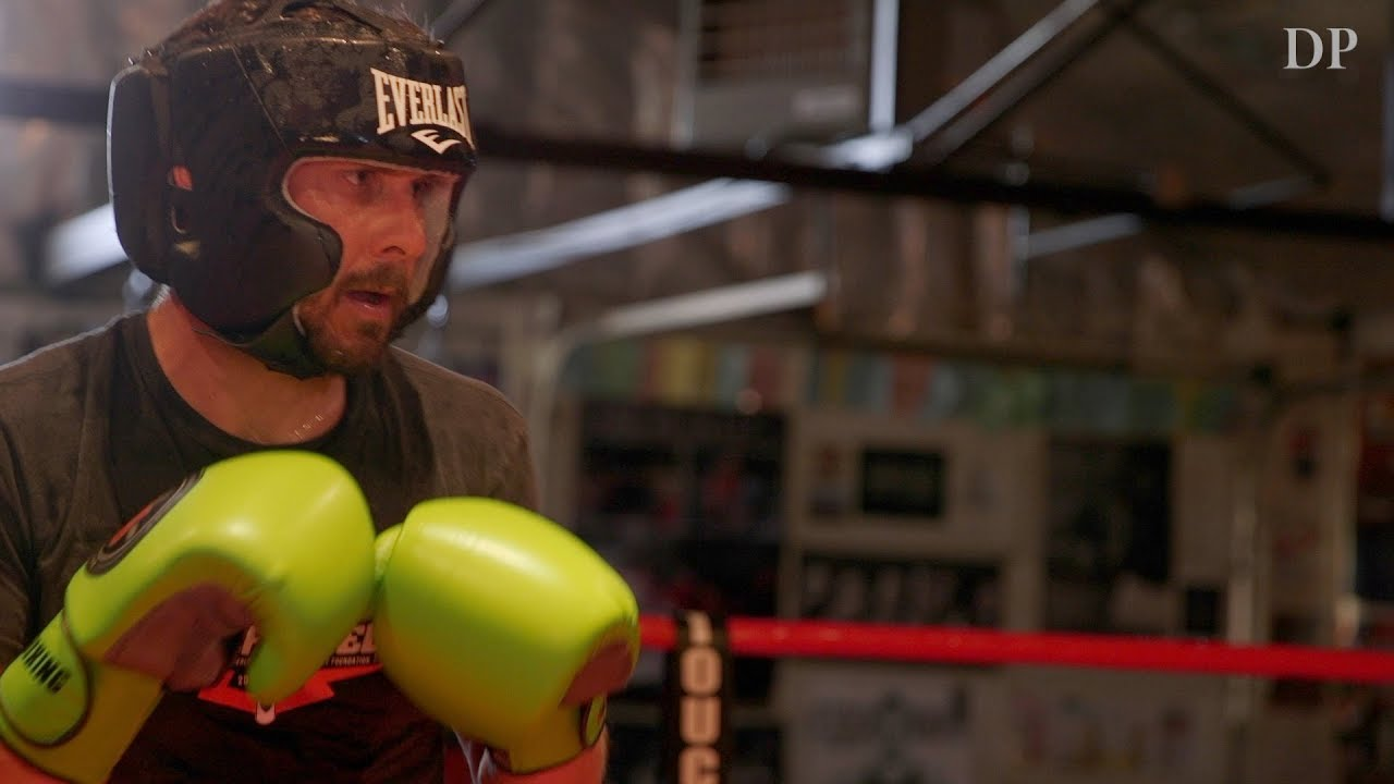 Knockout Cancer: A son boxing to help his father in the fight against cancer