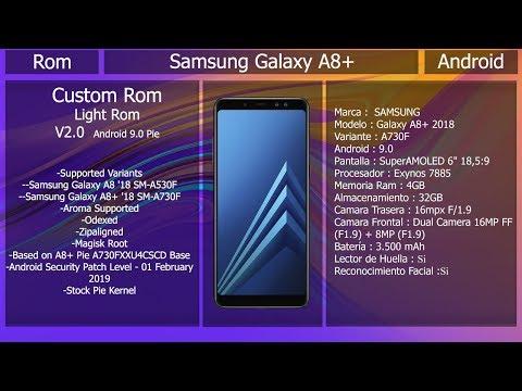 Rom Light Rom V2 - Android 9 0 - Samsung Galaxy A8/A8+ - YouTube
