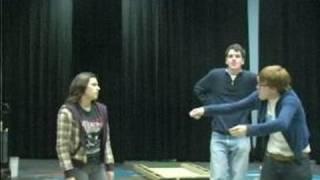 High School Improv Comedy Games : Playing Revolving Door Improv Game: Pt 1