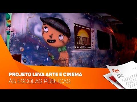 Projeto leva arte e cinema às escolas públicas - TV SOROCABA/SBT