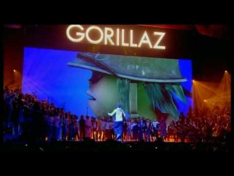 Gorillaz - Dirty Harry (Live BRITs Performance)