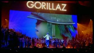 Gorillaz - Dirty Harry (Live BRITs Performance)