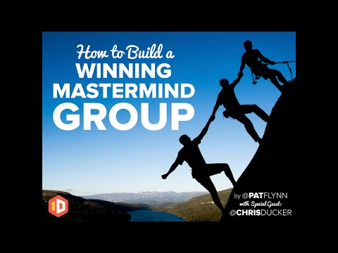 How to Build a Winning Mastermind Group (Webinar Replay) - SPI TV, Ep. 12