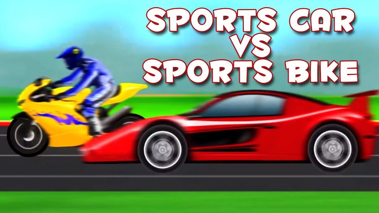 kids toy race | sports car | bike | children's video