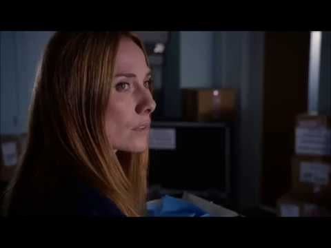 Holby City -  Jac and Professor Gaskell meet