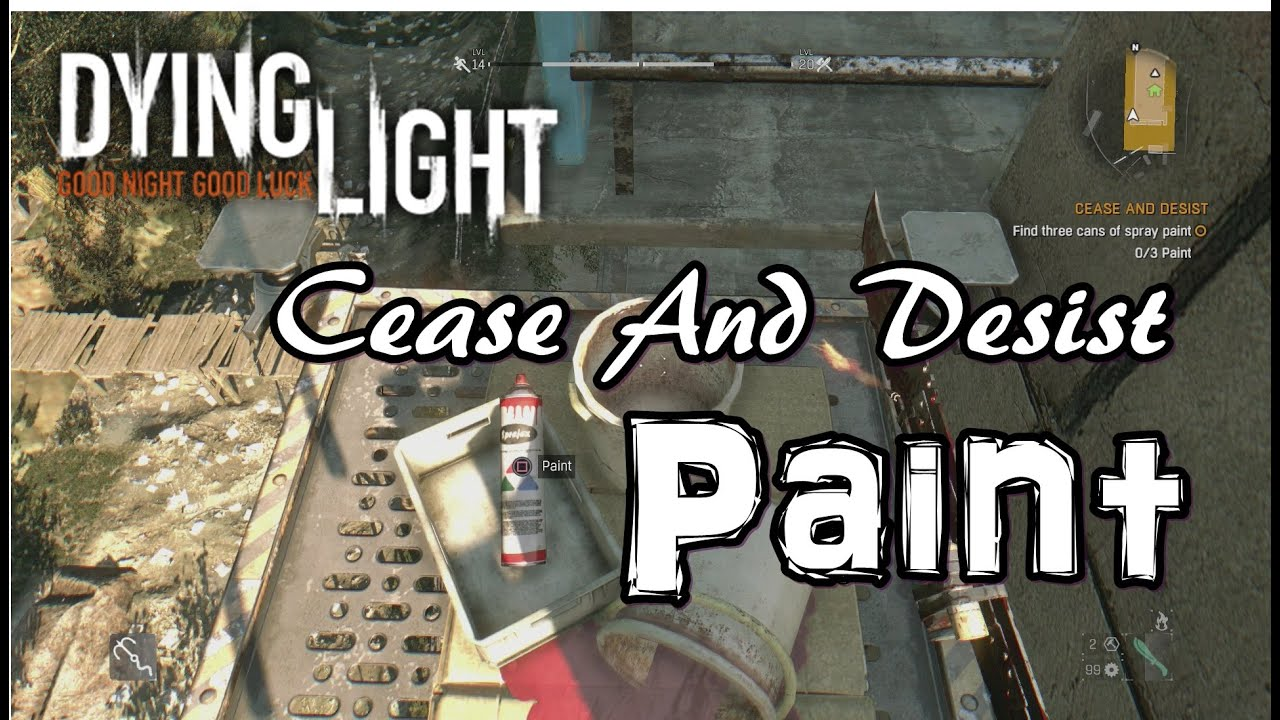 Where To Find Spray Paint In Dying Light