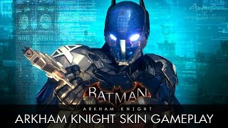 Batman: Arkham Knight - Arkham Knight Skin Gameplay (Free Roam)
