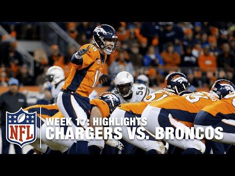 Chargers vs. Broncos   Week 17 Highlights   NFL