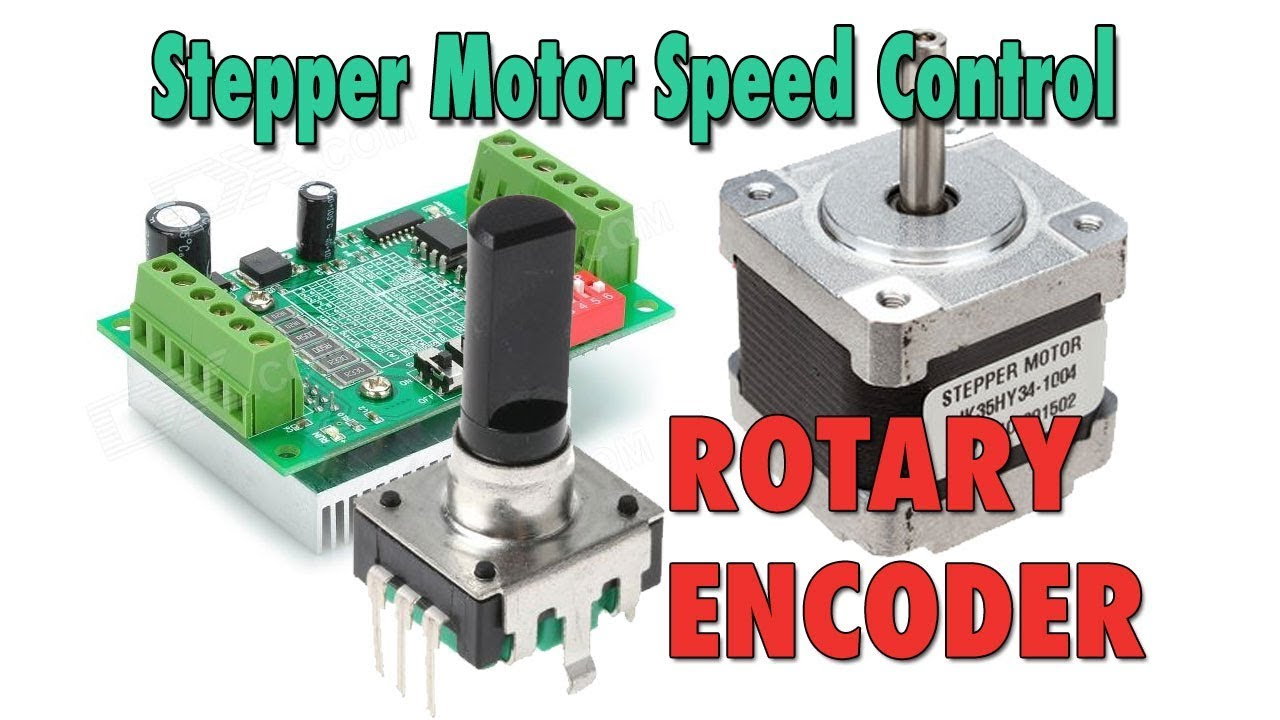 Stepper motor speed control with rotary encoder arduino for Encoder for motor control