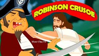 Robinson Crusoe | Adventure Story - English Subtitles | Moo Chu TV