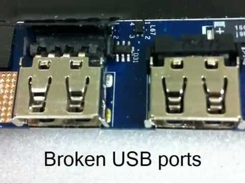 Acer Aspire 5517 broken USB ports repair - by Laptop Specialist