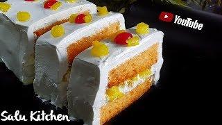 Cake Challenge: എല്ലാവർക്കും ഉണ്ടാക്കാം പേസ്റ്റ്ട്രി || NO [Egg-Oven- Beater] Pastry || Salu Kitchen