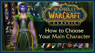 Classic WoW Guide: Picking a Class (All 9 Classes Compared)