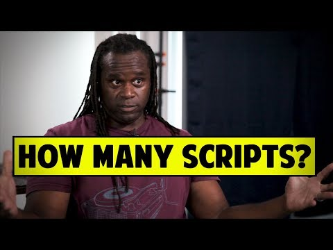 How Many Screenplays Does A Screenwriter Need To Have? - Markus Redmond