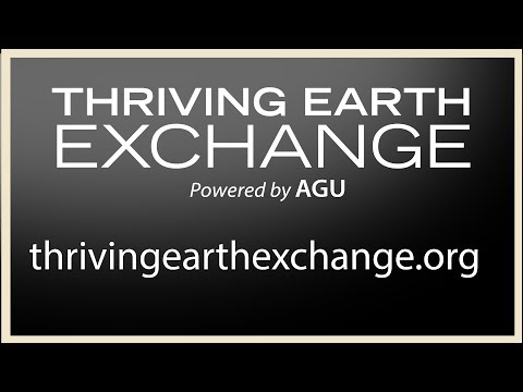 Thriving Earth Exchange: Doing Good with Science