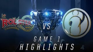 KT vs. IG - Worlds Quarterfinal Match Highlights (2018)