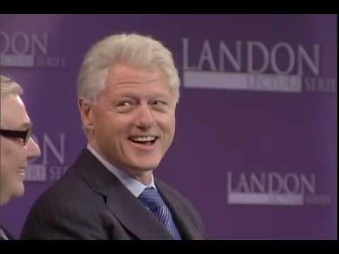Landon Lecture | Bill Clinton