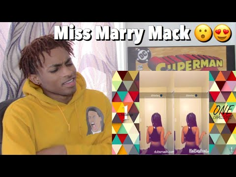 MISS MARY MACK CHALLENGE DANCE COMPILATION REACTION #msmarymeiaNdae  #missmarrymackdance