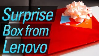 Unboxing a Present from Lenovo!