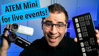 Filming small conferences and meetups with the ATEM Mini