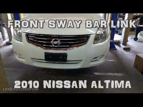 Nissan Altima 2.5S >> How to Replace Front Sway Bar Links 2007-2012 Nissan ...